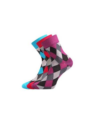 Ponožky Boma IVANA Mix 51 - balení 3 páry