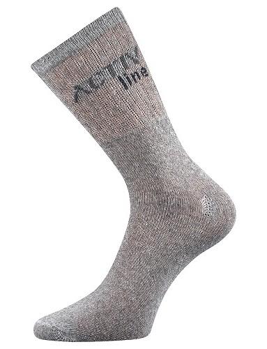 Pánské sportovní ponožky Boma SPOTLITE, světle šedá