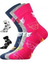 Ponožky Boma Xantipa Mix 45 - balení 3 páry v barevném mixu