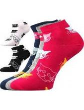 Ponožky Boma Piki dámské Mix 52 - balení 3 různé páry