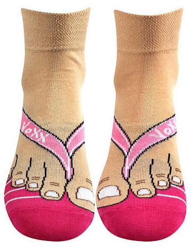 Ponožky VoXX MITCH, dámské, magenta