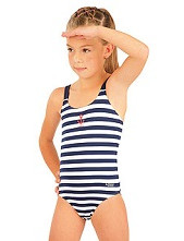 Jednodílné dívčí plavky Litex 57537