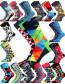 Ponožky Lonka WOODOO - balení 3 páry v barevném mixu