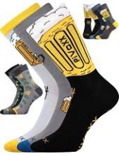 Sportovní ponožky VoXX PIVOXX- balení 3 páry v barevném mixu