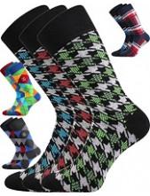 Ponožky Lonka DIKARUS - balení 3 páry v barevném mixu