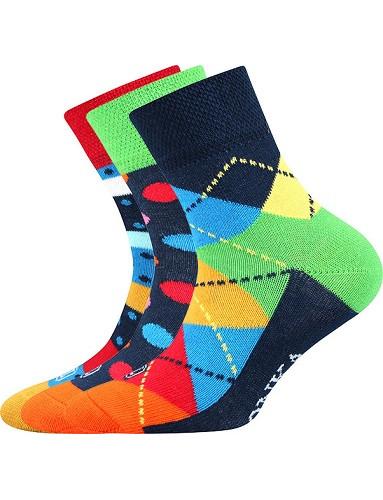 Dětské ponožky Lonka WOODIK mix A