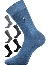 Společenské ponožky Lonka DESPOK, antracit melé
