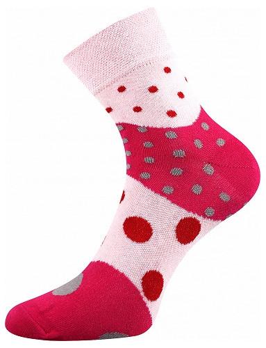 Ponožky Boma IVANA 53, růžová