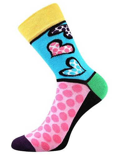 Ponožky Boma IVANA 55, žlutá
