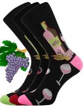 Sportovní ponožky VoXX VínoXX - balení 3 páry v barevném mixu