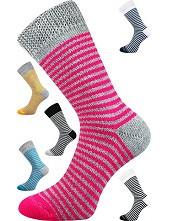 Spací ponožky Boma PROUŽEK