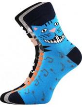 Ponožky Boma Xantipa 55 - balení 3 páry v barevném mixu