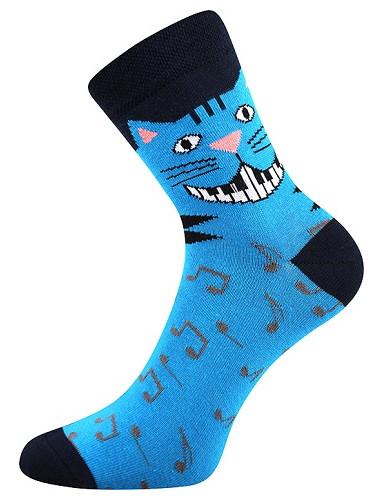 Ponožky Boma Xantipa 55, hudební kočka