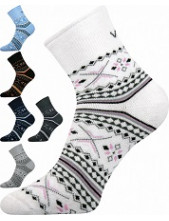 Ponožky dámské VoXX Ingvild bílá