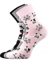 Ponožky Boma Xantipa 59 - balení 3 páry v barevném mixu