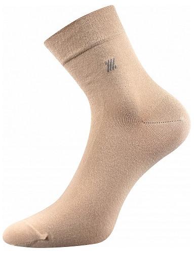 Společenské ponožky Lonka DION, béžová