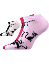 Ponožky dámské Boma PIKI 33 - balení 3 páry
