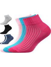 SETRA sportovní dětské ponožky VoXX, mix A, magenta