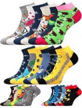 Ponožky Lonka DABL - balení 3 různé páry