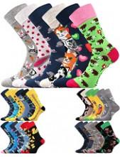 Ponožky Lonka DOBLE - balení 3/2 různé páry