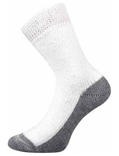 SPACÍ ponožky Boma - veselé barvy, bílá