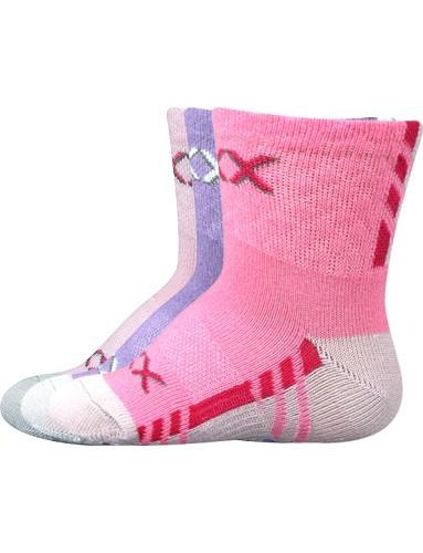 Kojenecké ponožky VoXX PIUSINEK, mix B holka