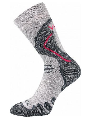 Sportovní ponožky VoXX LIMIT III, světle šedá