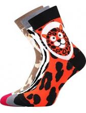 Ponožky Boma Xantipa 62 - balení 3 páry v barevném mixu