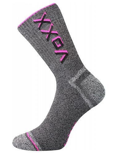 HAWK silné ponožky VoXX, neon růžová