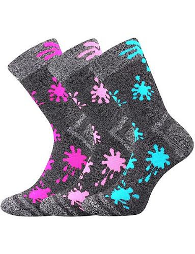 HAWKIK dětské sportovní ponožky VoXX, mix holka