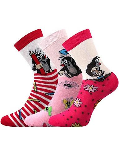 Ponožky Boma - Krtek, mix 1/holka