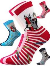 Ponožky Boma - Krtek Mix D magenta