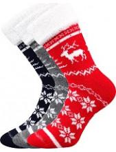 Ponožky Boma NORWAY - balení 3 páry v barevném mixu