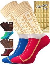 Ponožky Lonka CHOCOLATE - krabička s jedním párem
