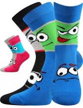 Dětské ponožky Boma TLAMIK - balení 2 páry v barevném mixu