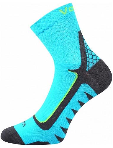 Ponožky VoXX - KRYPTOX, tyrkys-neon zelená