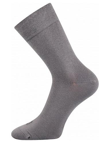 Společenské ponožky Lonka ELI, světle šedá