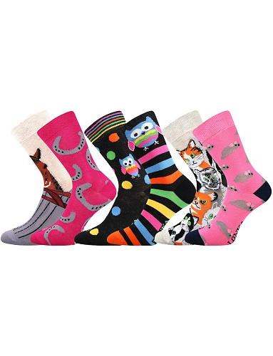 Dětské ponožky Lonka DOBLIK, mix holka