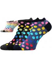 Ponožky Boma Piki 65 - balení 3 různé páry