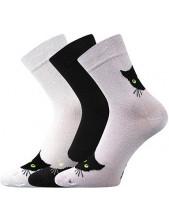 Ponožky Boma Xantipa 65 - balení 3 páry v barevném mixu