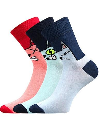 Ponožky Boma Xantipa 67 - balení 3 páry v barevném mixu