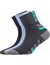 Výprodej vel. 11-13(17-19) MAIK dětské sportovní ponožky VoXX - balení 3 páry