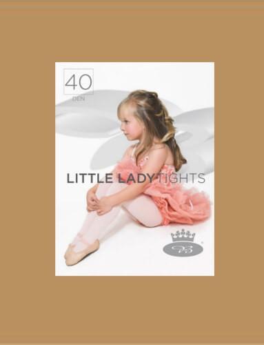 Dívčí punčochové kalhoty LITTLE LADYtights beige