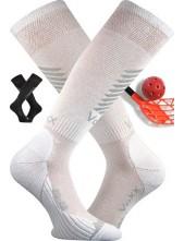 SHELBY floorbalové podkolenky VoXX, bílá