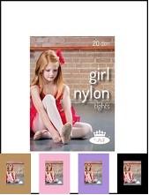 Dívčí punčocháče GIRL NYLONtights