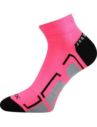 Ponožky VoXX FLASHIK, neon růžová