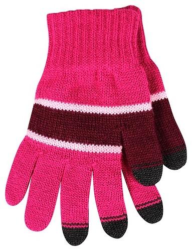 DOTYKÁČEK rukavice na dotykový displej, růžová