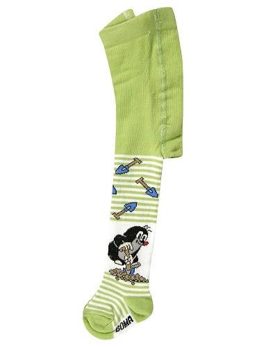 Dětské punčocháče Boma - Krtek KR 222 zelená