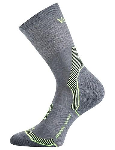 Ponožky VoXX INDY Merino vlna, světle šedá