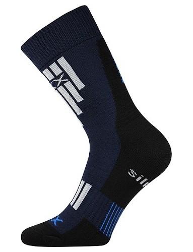 Ponožky VoXX - Extrém, tmavě modrá vel. 23-25